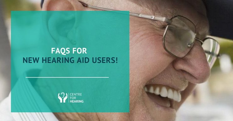 FAQs for New Hearing Aid Users